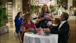 Dipi Rebecchi, Terese Willis, Sheila Canning, Paul Robinson in Neighbours Episode 8373