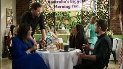 Dipi Rebecchi, Shane Rebecchi, Yashvi Rebecchi, Ned Willis in Neighbours Episode 8373