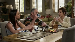 Bea Nilsson, Karl Kennedy, Susan Kennedy in Neighbours Episode 8373