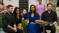 Ned Willis, Yashvi Rebecchi, Dipi Rebecchi, Shane Rebecchi in Neighbours Episode 8373