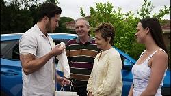 Shaun Watkins, Karl Kennedy, Susan Kennedy, Bea Nilsson in Neighbours Episode 8373