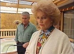 Lou Carpenter, Cheryl Stark in Neighbours Episode 2207