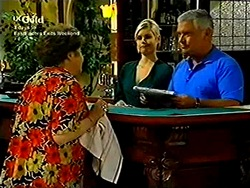 Marlene Kratz, Joanna Hartman, Lou Carpenter in Neighbours Episode 2804