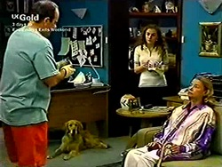 Philip Martin, Holly, Debbie Martin, Helen Daniels in Neighbours Episode 2804