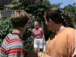 Billy Kennedy, Ruth Wilkinson, Toadie Rebecchi in Neighbours Episode 2806