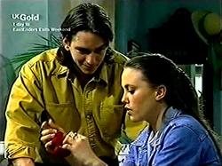 Darren Stark, Libby Kennedy in Neighbours Episode 2806