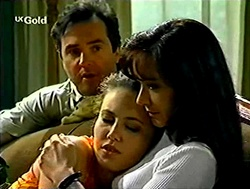 Karl Kennedy, Libby Kennedy, Susan Kennedy in Neighbours Episode 2807