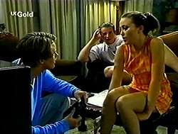 Billy Kennedy, Toadie Rebecchi, Libby Kennedy in Neighbours Episode 2807
