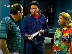 Philip Martin, Tim Buckley, Helen Daniels in Neighbours Episode 2809