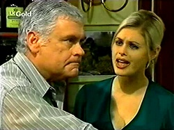 Lou Carpenter, Joanna Hartman in Neighbours Episode 2809