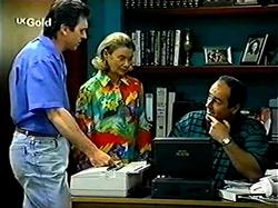 Karl Kennedy, Helen Daniels, Philip Martin in Neighbours Episode 2810