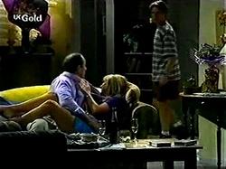 Philip Martin, Ruth Wilkinson, Lance Wilkinson in Neighbours Episode 2810