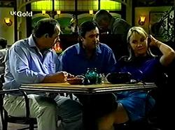Philip Martin, Karl Kennedy, Lou Carpenter, Ruth Wilkinson in Neighbours Episode 2810