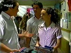 Toadie Rebecchi, Lance Wilkinson, Hannah Martin in Neighbours Episode 2811