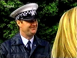 Policeman in Neighbours Episode 2811
