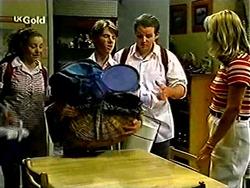 Hannah Martin, Lance Wilkinson, Toadie Rebecchi, Ruth Wilkinson in Neighbours Episode 2811