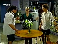 Toadie Rebecchi, Joanna Hartman, Lance Wilkinson in Neighbours Episode 2811