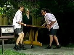 Lance Wilkinson, Joanna Hartman, Toadie Rebecchi in Neighbours Episode 2811