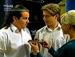 Toadie Rebecchi, Lance Wilkinson, Joanna Hartman in Neighbours Episode 2812