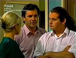 Joanna Hartman, Karl Kennedy, Toadie Rebecchi in Neighbours Episode 2812