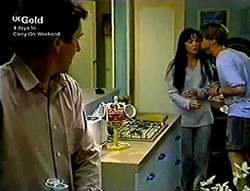 Karl Kennedy, Susan Kennedy, Billy Kennedy in Neighbours Episode 2813