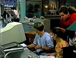 Susan Kennedy, Karl Kennedy, Billy Kennedy, Anne Wilkinson, Toadie Rebecchi in Neighbours Episode 2813