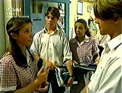 Anne Wilkinson, Lance Wilkinson, Hannah Martin, Billy Kennedy in Neighbours Episode 2814