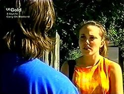 Darren Stark, Libby Kennedy in Neighbours Episode 2814