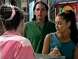 Debbie Martin, Darren Stark, Sarah Beaumont in Neighbours Episode 2815