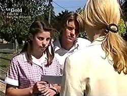 Anne Wilkinson, Billy Kennedy, Lisa Elliot in Neighbours Episode 2815
