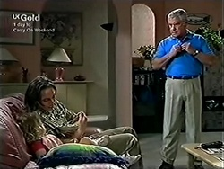 Louise Carpenter (Lolly), Darren Stark, Lou Carpenter in Neighbours Episode 2816