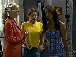 Lisa Elliot, Hannah Martin, Sarah Beaumont in Neighbours Episode 2816