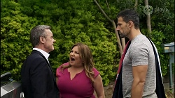 Paul Robinson, Terese Willis, Pierce Greyson in Neighbours Episode 8374