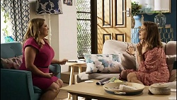 Terese Willis, Naomi Canning in Neighbours Episode 8374