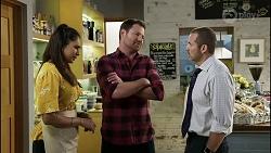 Dipi Rebecchi, Shane Rebecchi, Toadie Rebecchi in Neighbours Episode 8374