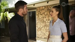 Ned Willis, Chloe Brennan in Neighbours Episode 8374
