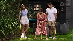 Chloe Brennan, Naomi Canning, Pierce Greyson in Neighbours Episode 8374