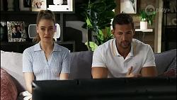 Chloe Brennan, Pierce Greyson in Neighbours Episode 8375