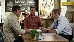 Grant Hargreaves, Shane Rebecchi, Toadie Rebecchi in Neighbours Episode 8375