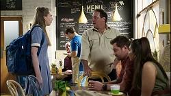 Mackenzie Hargreaves, Grant Hargreaves, Shane Rebecchi, Dipi Rebecchi in Neighbours Episode 8375