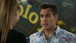 Chloe Brennan, Aaron Brennan in Neighbours Episode 8376