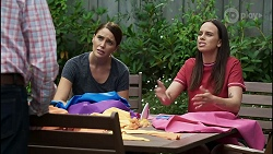 Karl Kennedy, Elly Conway, Bea Nilsson in Neighbours Episode 8377