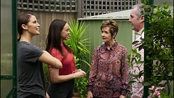 Elly Conway, Bea Nilsson, Susan Kennedy, Karl Kennedy in Neighbours Episode 8377