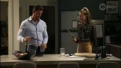 Pierce Greyson, Chloe Brennan in Neighbours Episode 8378