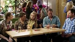 Mackenzie Hargreaves, Hendrix Greyson, Harlow Robinson, Grant Hargreaves, Shane Rebecchi in Neighbours Episode 8378