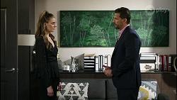 Chloe Brennan, Pierce Greyson in Neighbours Episode 8378