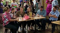 Richie Amblin, Mackenzie Hargreaves, Hendrix Greyson, Harlow Robinson, Grant Hargreaves, Shane Rebecchi in Neighbours Episode 8378