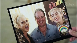 Courtney Act, Grant Hargreaves, Mackenzie Hargreaves in Neighbours Episode 8378