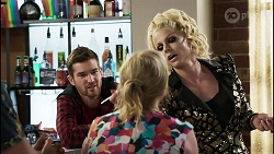 Ned Willis, Sheila Canning, Courtney Act in Neighbours Episode 8379