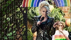 Courtney Act in Neighbours Episode 8379